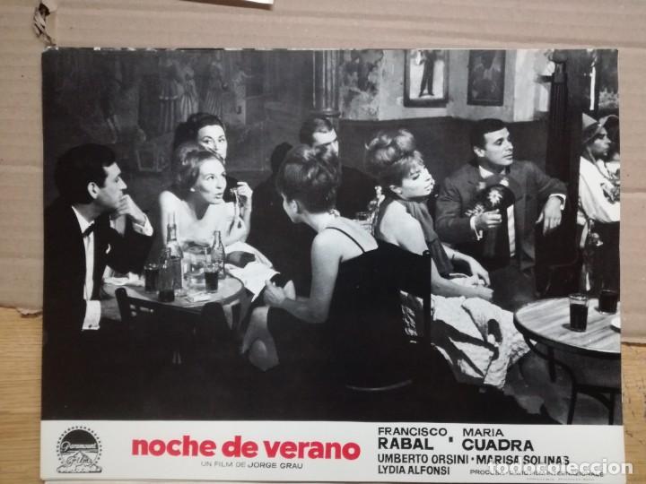 Cine: NOCHE DE VERANO. FRANCISCO RABAL JORGE GRAU SET 10 FOTOCROMOS ORIGINAL ESTRENO. - Foto 6 - 138603538