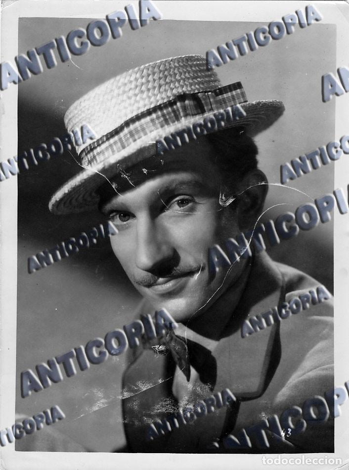 Cine: 24 FOTOGRAFIAS DE ACTORES DEL CINE CLASICO ESPAÑOL (AÑOS 50 / 60) - Foto 3 - 136447466