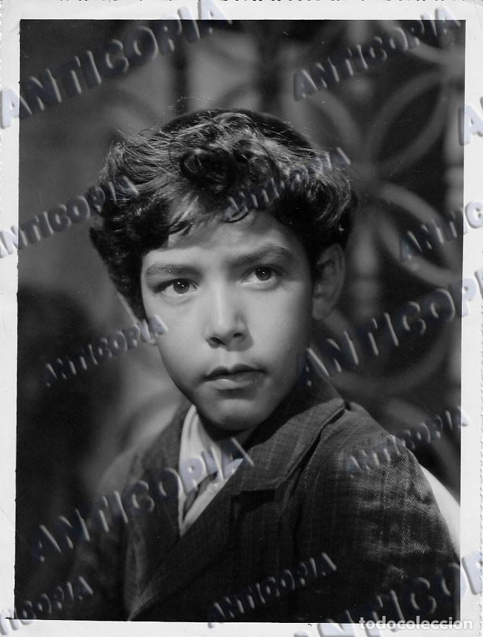 Cine: 24 FOTOGRAFIAS DE ACTORES DEL CINE CLASICO ESPAÑOL (AÑOS 50 / 60) - Foto 18 - 136447466