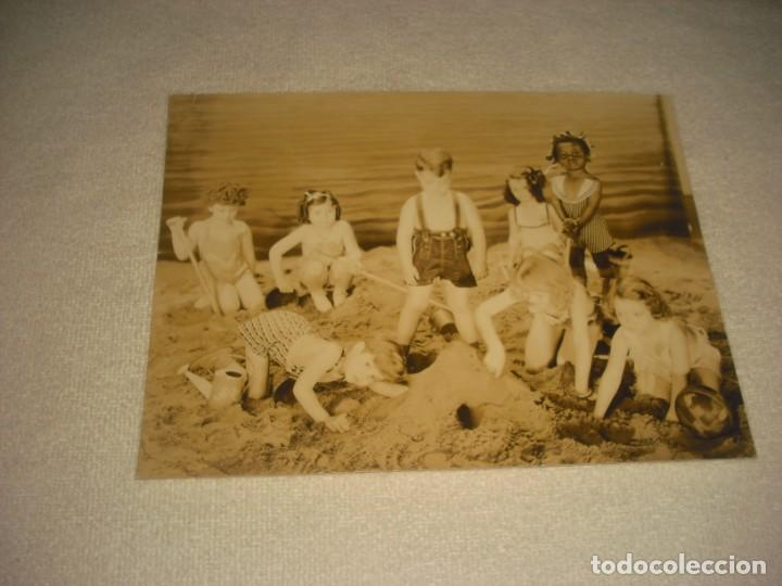OUR GANG. AND A GOOD TIME WAS HAD BY ALL. FOTO ORIGINAL 22,5 X 17 CM. (Cine - Fotos, Fotocromos y Postales de Películas)