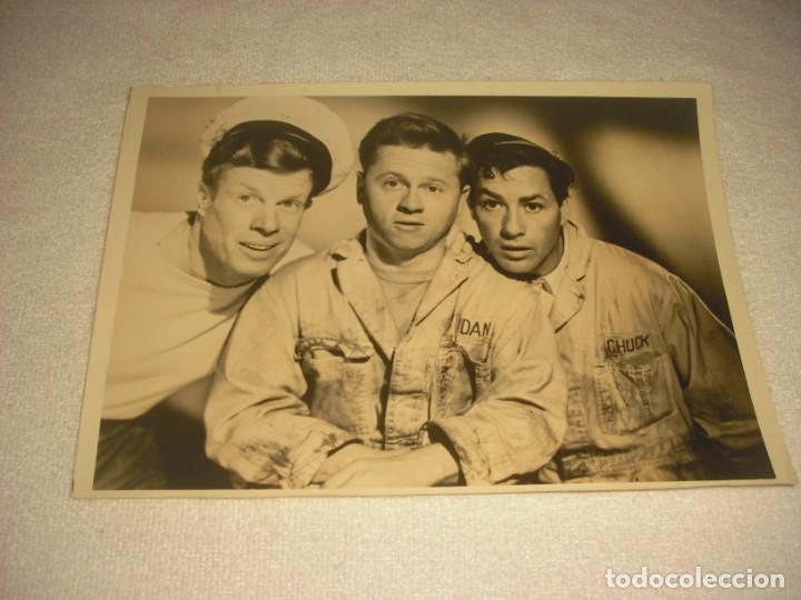 QUICK SAND 1950. CON MICKEY ROONEY. FOTO ORIGINAL . 24 X 17 CM. (Cine - Fotos, Fotocromos y Postales de Películas)