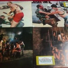 Cine: EL MAGNIFICO GLADIADOR. MEDIDAS 34X24CM. 12 UNIDADES. Lote 141291246