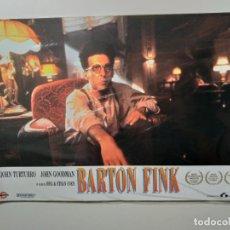 Cine: PELICULA: BARTON FINK (JOEL COEN, 1991) 12 FOTOCROMOS PRECINTADOS. JOHN TURTURRO, JOHN GOODMAN, STE. Lote 142222910
