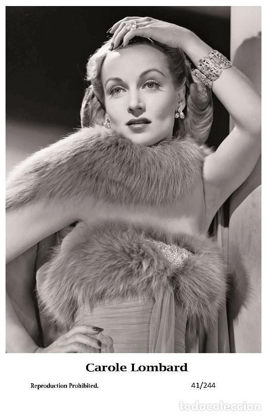CAROLE LOMBARD - FILM STAR PIN UP PHOTO POSTCARD - 41-244 SWIFTSURE POSTCARD (Cine - Fotos y Postales de Actores y Actrices)