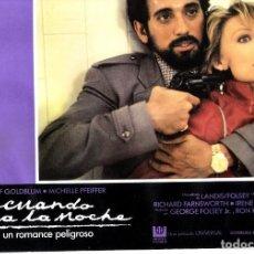 Cine: FOTOCROMO ORIGINAL SENCILLA (CUANDO LLE LA NOCHE). Lote 143492174
