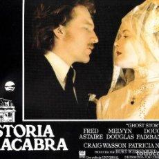 Cine: LOTE COMPLETO DE 12 FOTOCROMOS ORIGINALES (HISTORIA MACABRA). Lote 143493274