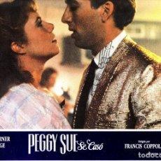Cine: LOTE COMPLETO DE 12 FOTOCROMOS ORIGINALES (PEGGY SUE). Lote 143493998