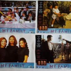Cine: MY FAMILY LOTE DE 14 FOTOCROMOS. Lote 143790002