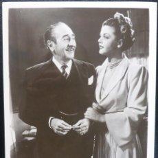 Cine: STATE OF THE UNION PROMO STILLS 8X10, ADOLPHE MENJOU, ANGELA LANSBURY, MCA TV, 1948. Lote 144559886