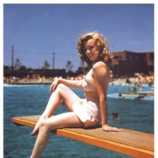 Cine: MARILYN MONROE - FILM STAR PIN UP PHOTO POSTCARD- PUBLISHER SWIFTSURE 2000 (C33/93). Lote 144588378