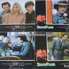 Cine: LOBBY CARDS LOTE 4 FOTOCROMOS SED DE PODER ORIGINAL 1984 DARYL HANNAH MICKEY ROURKE ERIC ROBERTS. Lote 144737686