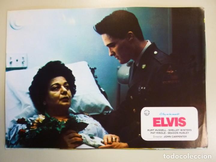 Cine: Juego 12 fotocromos publicitarios de la película Elvis El rey no ha muerto John Carpenter K Russell - Foto 7 - 145490098