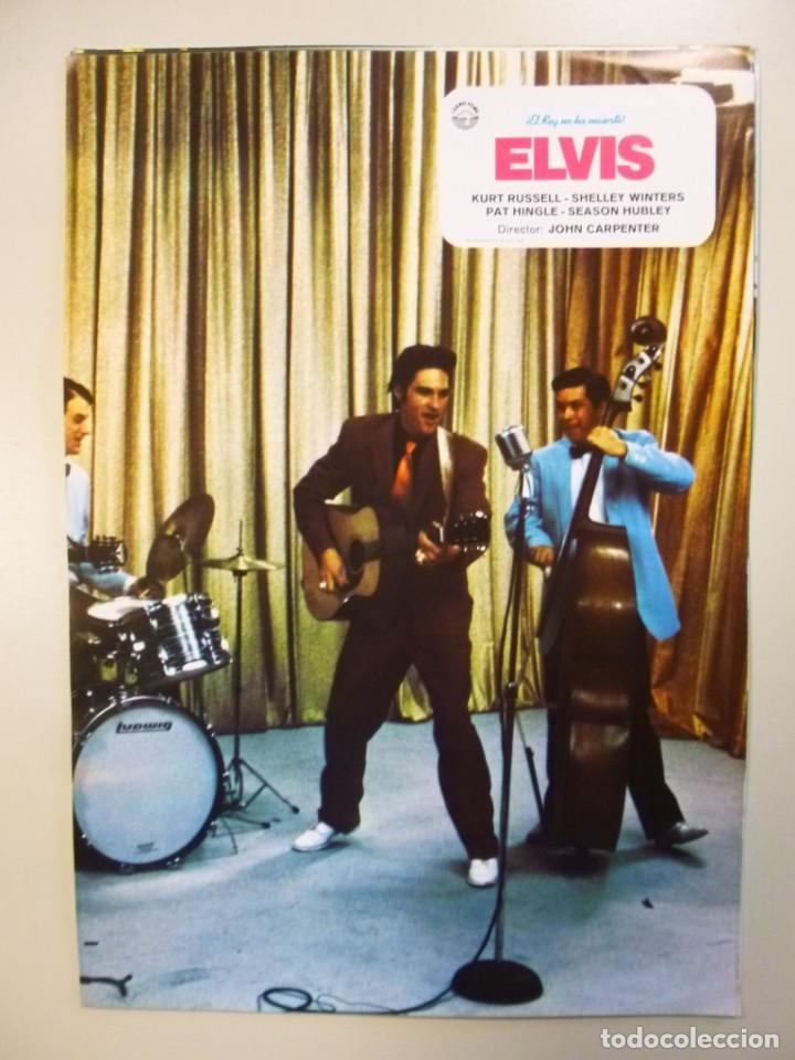 Cine: Juego 12 fotocromos publicitarios de la película Elvis El rey no ha muerto John Carpenter K Russell - Foto 9 - 145490098