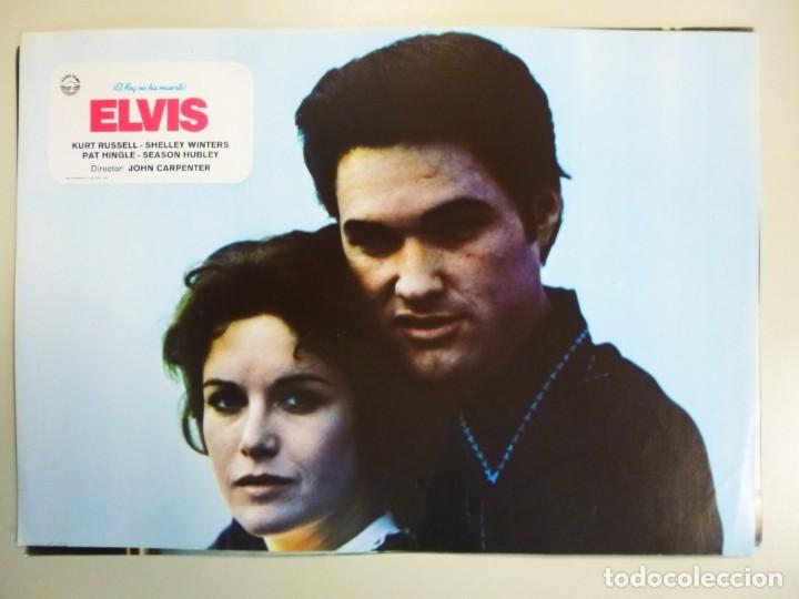 Cine: Juego 12 fotocromos publicitarios de la película Elvis El rey no ha muerto John Carpenter K Russell - Foto 11 - 145490098