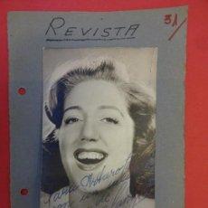 Cine: MARY SANTPERE. FOTO ORIGINAL FIRMADA. AÑOS 1940S. Lote 145613490