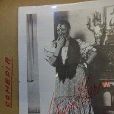 Cine: ANTONIA HERRERO. FOTO CON DEDICATORIA Y FIRMA ORIGINAL DE LA ACTRIZ. AÑOS 1930S. Lote 145615382