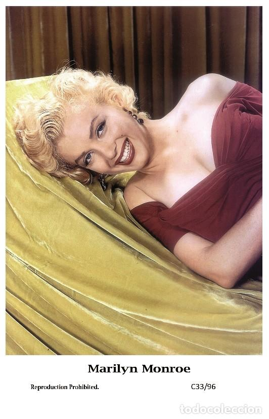MARILYN MONROE - FILM STAR PIN UP PHOTO POSTCARD- PUBLISHER SWIFTSURE 2000 (C33/96) (Cine - Fotos y Postales de Actores y Actrices)