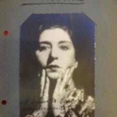 Cine: LOLA MEMBRIVES. ACTRIZ. ANTIGUA FOTO AUTOGRAFIADA. ORIGINAL AÑOS 1930S. Lote 145829218