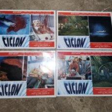 Cine: CICLON RENE CARDONA ANDRES GARCÍA 4 FOTOCROMOS ORIGINALES Q. Lote 51523131