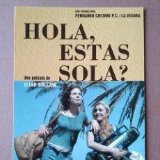 Cine: POSTAL CINE. HOLA ESTAS SOLA? ICÍAR BOLLAIN. CANDELA PEÑA. SILKE. CIRCULADA EN 1996.. Lote 146658074