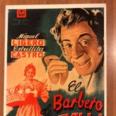 Cine: TARJETA POSTAL EL BARBERO DE SEVILLA ESTRELLITA CASTRO MIGUEL LIGERO. Lote 147037954