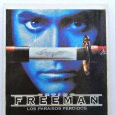 Cine: Nº 171 CRYING FREEMAN ( LOS PARAISOS PERDIDOS) 1995 , TARJETA POSTAL DE PELÍCULA , SIN CIRCULAR. Lote 147272534
