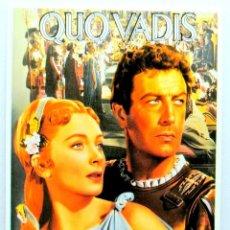 Cine: Nº 628.- QUO VADIS (1951) , TARJETA POSTAL DE PELÍCULA, SIN CIRCULAR. Lote 147280262