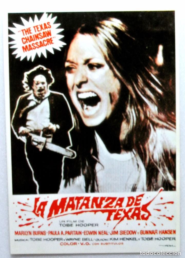 Nº 541 La Matanza De Texas 1974 Tarjeta P Comprar Fotos Fotocromos Y Postales De Peliculas De Cine En Todocoleccion 147282086