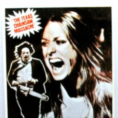 Cine: Nº 541 .- LA MATANZA DE TEXAS (1974), TARJETA POSTAL DE PELÍCULA, SIN CIRCULAR. Lote 147282086