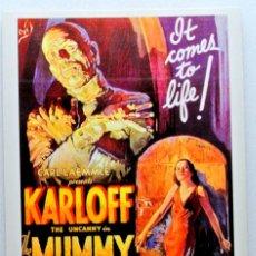 Cine: Nº 37 .- LA MOMIA ( 1932) , TARJETA POSTAL DE PELÍCULA, CINE FANTASTICO, SIN CIRCULAR. Lote 147283758
