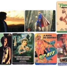 Cine: 7 CALENDARIOS PORTUGUESES DE 1990.. Lote 147330026