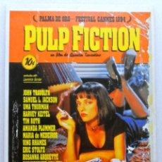 Cine: PULP FICTION (1994) , TARJETA POSTAL DE PELÍCULA, LAUREN FILMS, SIN CIRCULAR. Lote 147332242