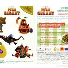 Cine: CALCAMONÍA DE LA PERA GEGANT.. Lote 147334002