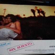 Cinéma: 5 FOTOCROMOS ORIGINALES - SIN ALIENTO - RICHARD GERE - PEDIDO MINIMO 5 EUROS. Lote 147361614