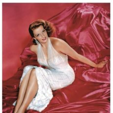 Cine: JANE RUSSELL - FILM STAR PIN UP PHOTO POSTCARD - C44-9 SWIFTSURE POSTCARD. Lote 147596846