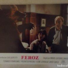 Cine: FEROZ / FERNANDO F GÓMEZ / MANUEL GUTIÉRREZ ARAGÓN / JUEGO ORIGINAL COMPLETO 12 FOTOCROMOS ESTRENO. Lote 147646694