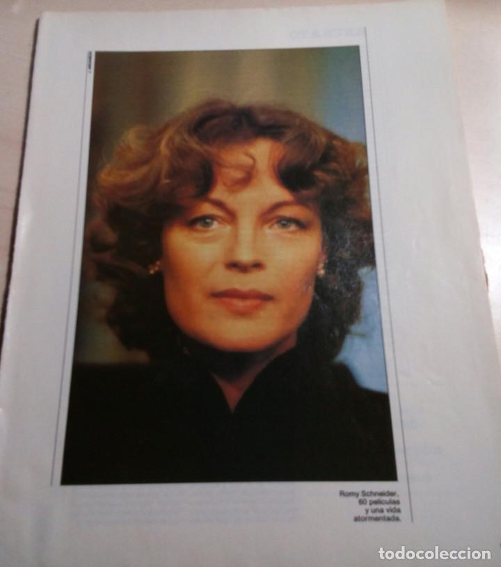 ROMY SCHNEIDER.1986. (Cine - Fotos y Postales de Actores y Actrices)
