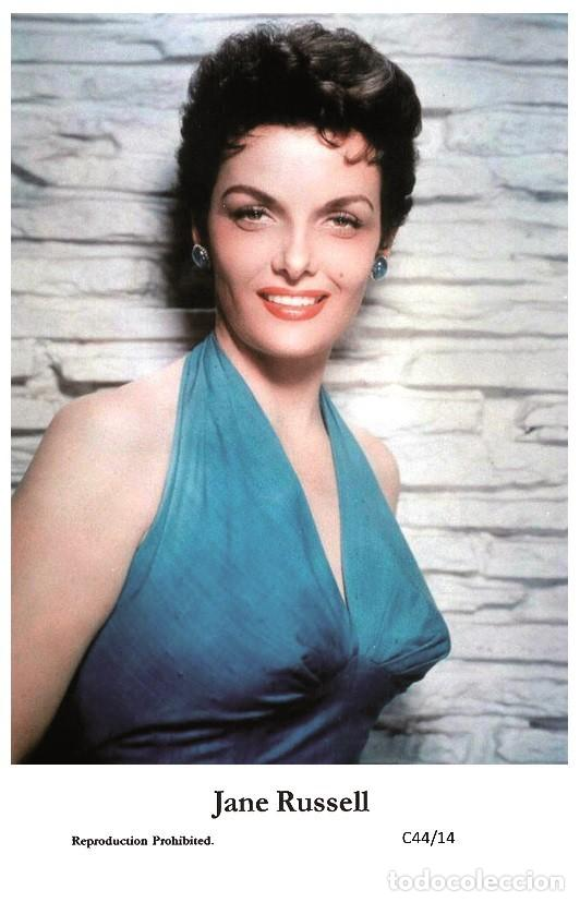 JANE RUSSELL - FILM STAR PIN UP PHOTO POSTCARD - C44-14 SWIFTSURE POSTCARD (Cine - Fotos y Postales de Actores y Actrices)