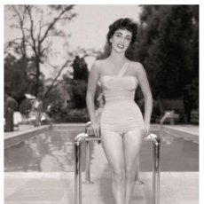 Cine: ELIZABETH TAYLOR - FILM STAR PIN UP PHOTO POSTCARD - P283-3 SWIFTSURE POSTCARD. Lote 147756958