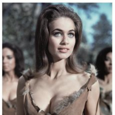 Cine: VALERIE LEON - FILM STAR PIN UP PHOTO POSTCARD - C39-32 SWIFTSURE POSTCARD. Lote 147760554
