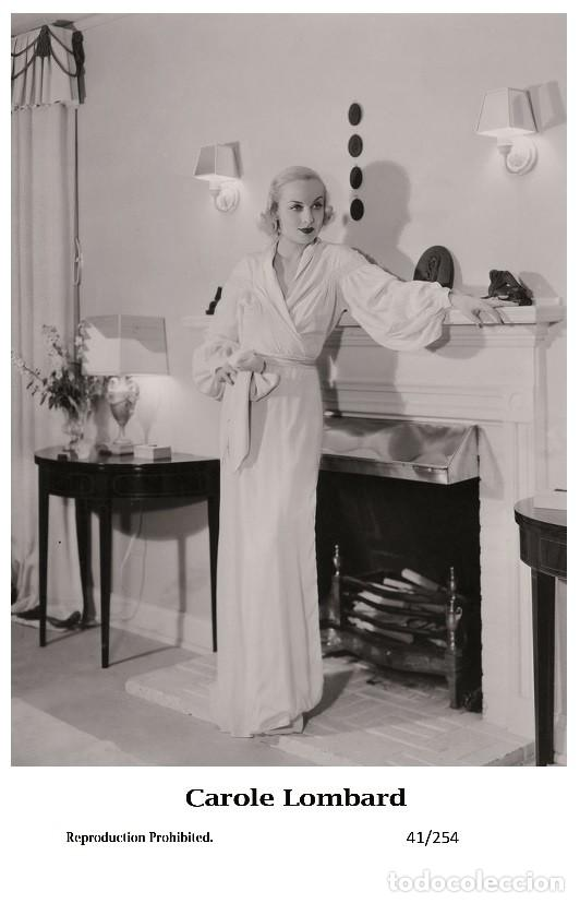 CAROLE LOMBARD - FILM STAR PIN UP PHOTO POSTCARD - 41-254 SWIFTSURE POSTCARD (Cine - Fotos y Postales de Actores y Actrices)