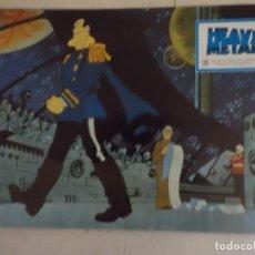 Cine: HEAVY METAL / JUEGO ORIGINAL 8 FOTOCROMOS ESTRENO. Lote 147887890