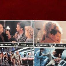Cine: LOTE DE 5 FOTOCROMOS DE ARNOLD SCHWARZENEGGER, DESAFÍO TOTAL ORIGINAL. Lote 148199488