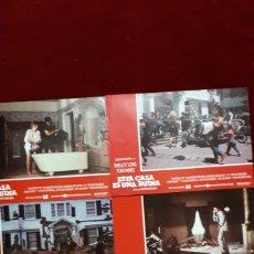Cine: LOTE DE 6 FOTOCROMOS DE ESTA CASA ES UNA RUINA. STEVEN SPIELBERG, SHELLEY LONG, TOM HANKS. Lote 148219418