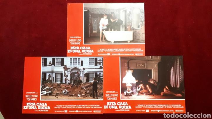 Cine: LOTE DE 6 FOTOCROMOS DE ESTA CASA ES UNA RUINA. STEVEN SPIELBERG, SHELLEY LONG, TOM HANKS - Foto 2 - 148219418