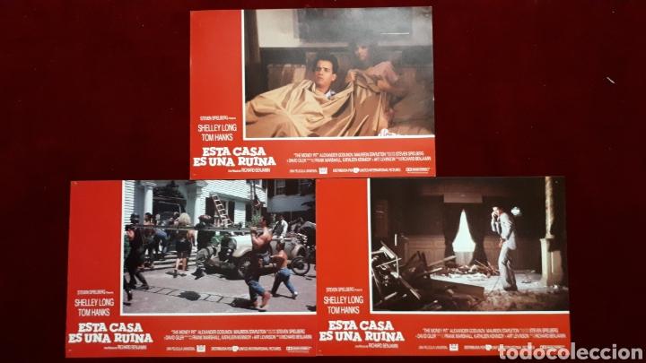 Cine: LOTE DE 6 FOTOCROMOS DE ESTA CASA ES UNA RUINA. STEVEN SPIELBERG, SHELLEY LONG, TOM HANKS - Foto 3 - 148219418