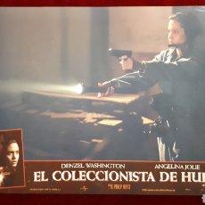 Cine: FOTOCROMO DE EL COLECCIONISTA DE HUESOS, DENZEL WASHINTON Y ANGELINA JOLIE. Lote 148228457