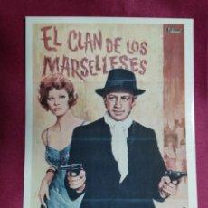 Cine: TARJETA POSTAL. 12. EL CLAN DE LOS MARSELLESES. 1972. CACITEL. Lote 148243914