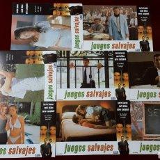 Cine: LOTE DE 8 FOTOCROMOS DE JUEGOS SALVAJES. Lote 148263278