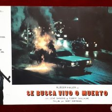 Cine: FOTOCROMO DE SE BUSCA VIVO O MUERTO. Lote 148325664